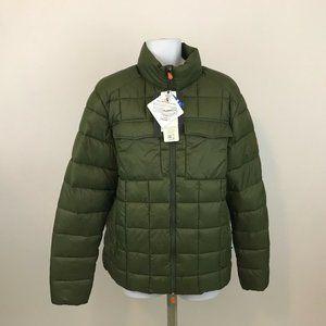Save the Duck Ultra Light Green Packable Jacket XL